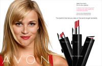 Pro to Go Lipstick advertisement featuring Reese Witherspoon
