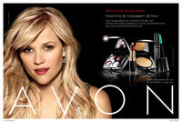 Brazil advertisement for Cosmetics featuring Reese Witherspoon