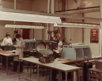 Assembly line at the Avon manufacturing plant in Ireland