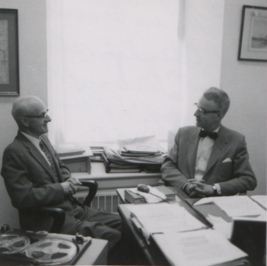 Interview with Edward B. Cheney, 1958 June 5 [audio](part 1)