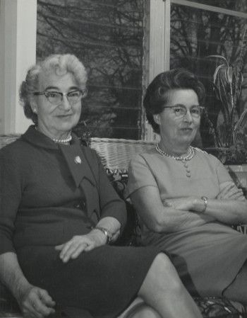 Interview with Faith Betty Lattomus and Madaline Betty Walls, 1969 June 12, 1969 June 25 [audio]