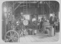 Workers in tool room at Hoopes, Bro. & Darlington sawmill (Brooksville, Fla.)