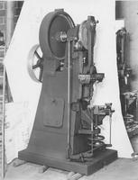 Unidentified machine built by Butcher & Gage machine company of Jackson, Mich.