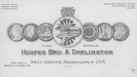 Hoopes, Bro. & Darlington postcard