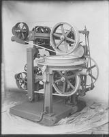 Unidentified foot-operated machine with wheels