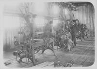 Lathe in operation at Hoopes, Bro. & Darlington sawmill (Brooksville, Fla.)