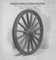 Print of a Hoopes, Bro. & Darlington wheel