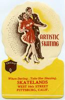 Artistic Skating: When dating, take her skating.