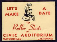 Let's make a date to roller skate!
