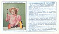 Whittemore's shoe polishes