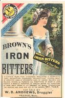Brown's iron bitters