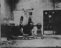 Power plant at the Wilkes-Barre Matheson Plant 1906