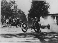 Automobile racing during the 1910 Giants Despair Hillclimb
