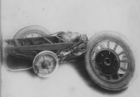 1908 50 horsepower Matheson Big Four automobile being constructed