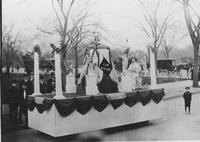 Matheson Automobile Company prize-winning parade float