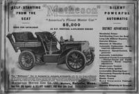 Matheson 'America's Finest Motor Car' advertisement