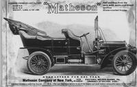 Matheson automobiles advertisement