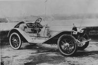 Matheson Silent Six Roadster on Riverside Drive in New York