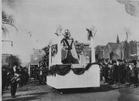 Matheson Automobile Company parade float