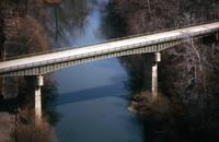 J. H. Tyler McConnell Bridge over Brandywine Creek in Wilmington, Del.