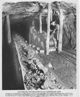 Modern Transportation in an Anthracite Mine