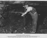 Miner's Using Modern Equipment