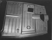 Automobile floor pan