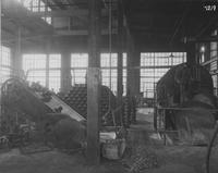 Foundry equipment for wheel-making du Pont