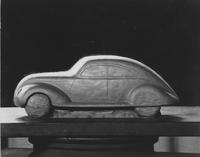 1934 model car, side view