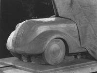 Model car, front side view