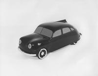 1945 model car, side front view