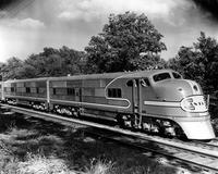 "Atchison, Topeka, and Santa Fe Railroad Company ""Super Chief"" train"