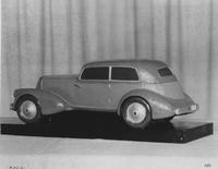 1931 model car, side view