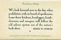 Prohibition Probes stationery