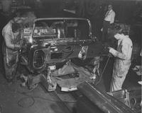 Welding a Buick, 1959, Wilmington, Del.