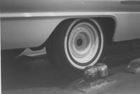 Automobile assembly, detail of roll test