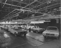 Automobile assembly, final line