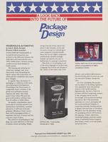 A Look Back Into the Future of Package Design