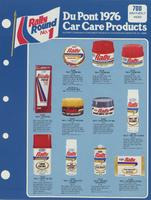 DuPont 1976 Car Care Products