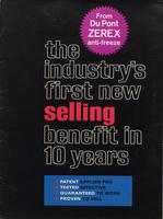 The industry's first new selling benefit in 10 year