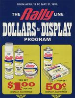 The Rally Line Dollars for Display Program