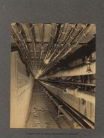 Interior view of tunnel connecting all buildings