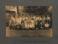 Group picture of superintendent, employees of factory office and factory foremen