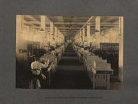 Section of one of the footer departments - center aisle