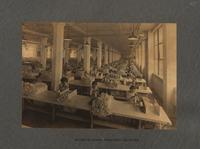 Section of seaming department - south side