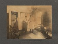 Operating room, medical division of dispensary