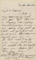 Mary Eschliman to Nora Edwards, 1909-10-01