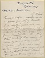 Annie Keister to Nora Edwards, 1907-02-18