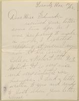 Lena Beunerman to Nora Edwards, 1908-11-18