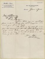 Walter Ames to Nora Edwards, 1908-06-17